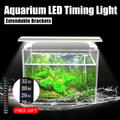 Timing LED pour aquarium avec supports extensibles 10W / 19W